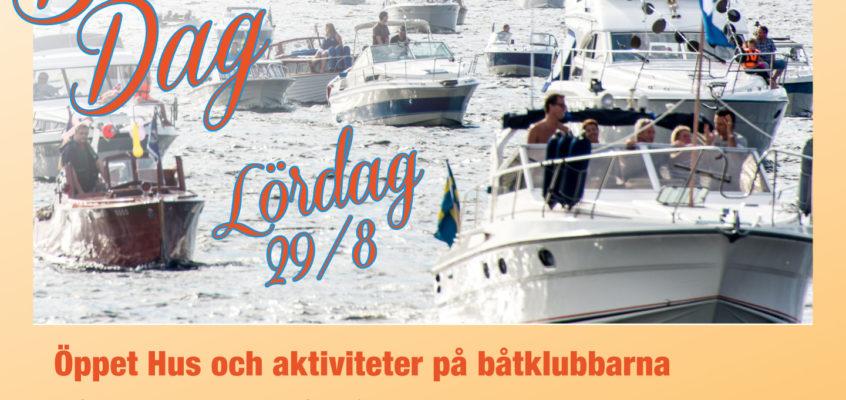 Båtklubbarnas dag – 29/8 2015